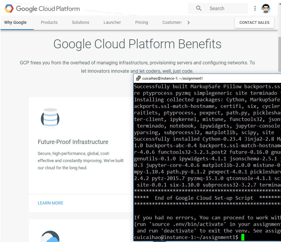 Machine Learning on Google Cloud Platform