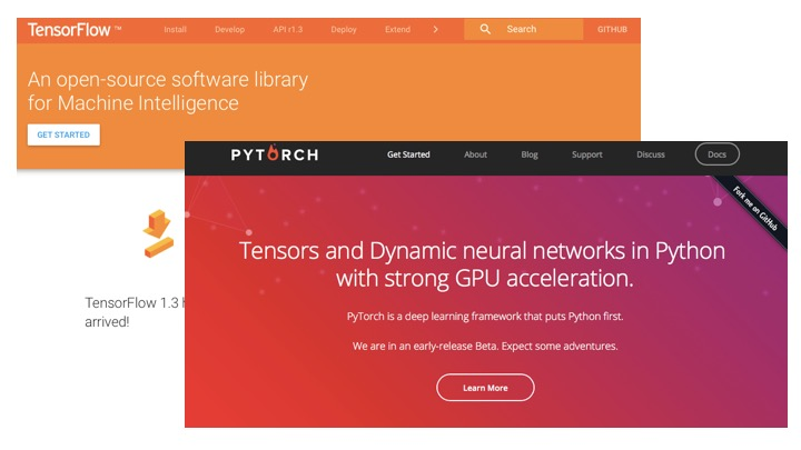 What do I think about PyTorch and TensorFlow?