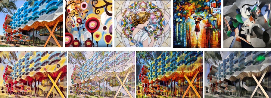 Fast Neural Style Transfer by PyTorch (Mac OS)